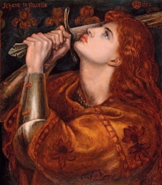 Joan of Arc, by Dante Gabriel Rossetti
