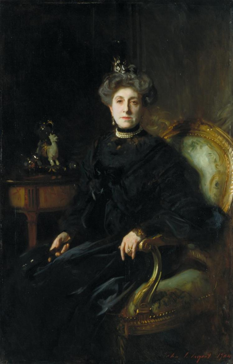 Every time I search for pictures of Lady Macbeth, this Mrs Wertheimer portrait by John Singer Sargent comes up.