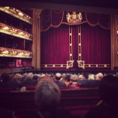 ROH, tho not altogether sure which opera.