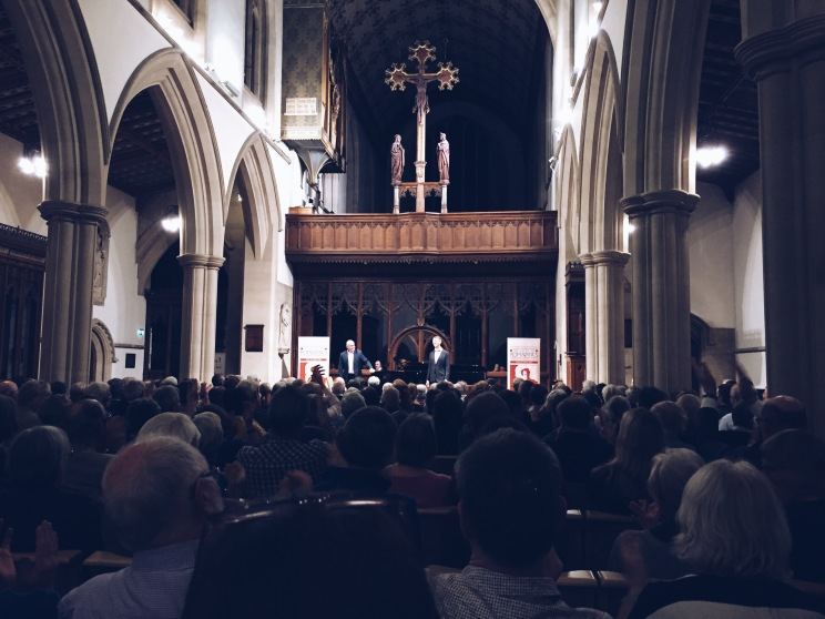 Roderick Williams at the Oxford Lieder Festival.